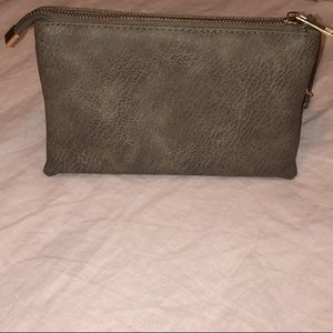Tri-pocket Wristlet/Purse